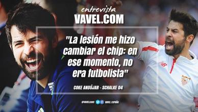"""Entrevista. Coke Andújar: """"La lesión me hizo cambiar el chip: en ese momento, no era futbolista"""""""