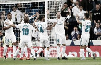 El Real Madrid recupera la tercera posición de la Liga Santander