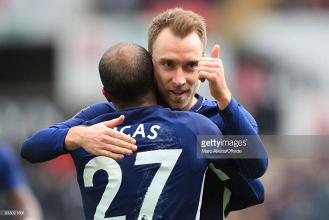 Analysis: An excellent Eriksen performance denies Swansea a semi-final place