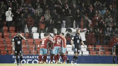 Goleada para prolongar el tira y afloja con el Huesca