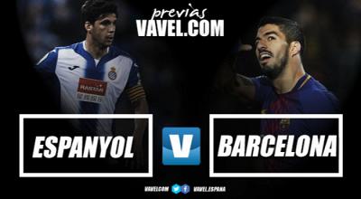 Previa RCD Espanyol - FC Barcelona: derbi catalán en busca del pase a semifinales de Copa