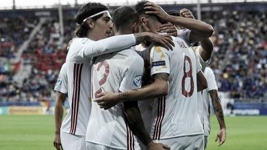 La 'rojita' de Denis Suárez ya está en la final del Europeo Sub-21