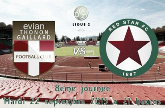 Revivez le live Evian Thonon Gaillard - Red Star (0-1)