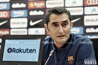 """Ernesto Valverde: """"Nuestra intención es ganarlo todo"""""""