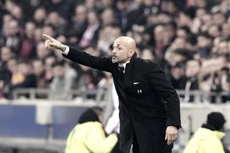 """Luciano Spalletti: """"El equipo no ha estado mal pero no hemos sabido cerrar el partido"""""""