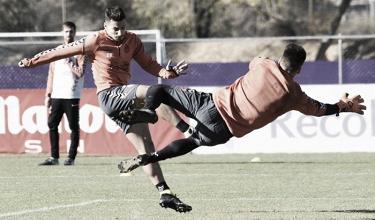 Preparación del Real Valladolid para el partido contra el Cádiz