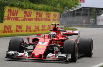 Kimi Raikkonen fecha sexta-feira na frente. Alonso surpreende e faz o sétimo tempo