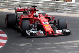 F1, GP Monaco - Nelle terze libere Ferrari davanti a tutti