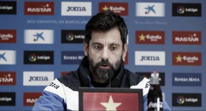 """Quique Sánchez Flores: """"Soy entrenador del Espanyol y lo seré"""""""