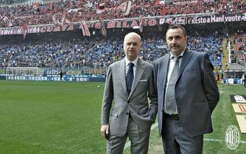 Milan, mercato chiuso al 99%