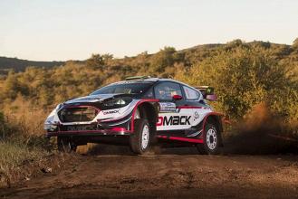 Rally d' Argentina 2017 - Nella mattina del Day1 conduce uno scatenato Evans