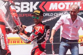 Superbike - Melandri al Mugello per risolvere i problemi di Imola