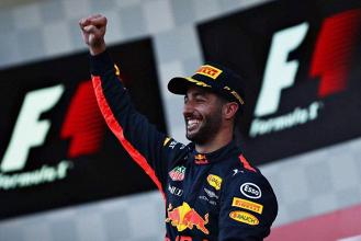 F1, Red Bull - Successo Ricciardo, ma Verstappen è ancora out