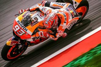 """MotoGp - Marquez si piega a Dovizioso: """"La prossima non voglio perderla"""""""