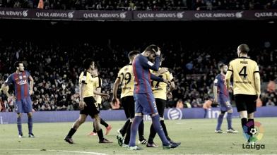 Al Barcelona se le atragantan los boquerones
