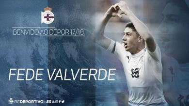 Federico Valverde ya es oficialmente el primer fichaje del Dépor de cara a la próxima campaña