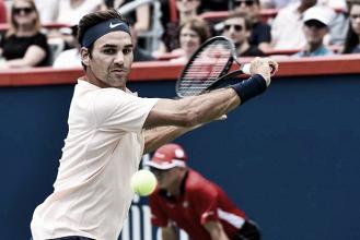 Tranquilo, Federer vence Agut em sets diretos e está nas semifinais de Montréal