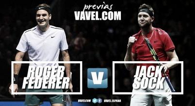 Previa Roger Federer - Jack Sock: partido trampa