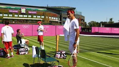 Los atascos alejan a los tenistas de la Villa Olímpica