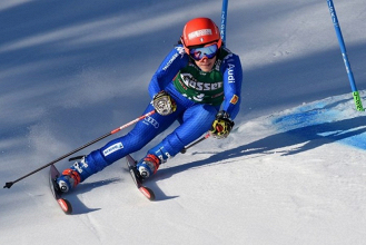 Sci alpino, gigante femminile - Ofterschwang, prima manche: comanda la Mowinckel, Bassino terza - FISI/Pentaphoto