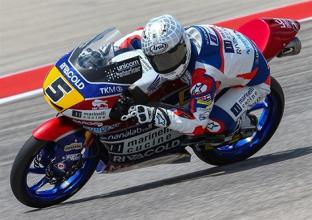 Moto3, FP1: Fenati il più veloce, bene gli italiani