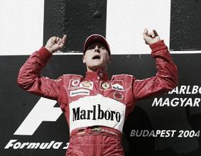 Michael Schumacher fue último ganador campeón del mundo en Hungría