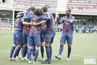 El Barça B asalta El Sardinero rumbo a Segunda A
