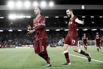 Liverpool tem início avassalador, bate Hoffenheim novamente e confirma avanço à UCL