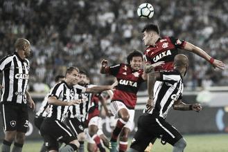 Botafogo empata sem gols com Flamengo e vaga na final será definida no Maracanã