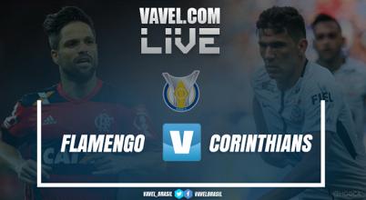 Resultado Flamengo x Corinthians pelo Campeonato Brasileiro 2017 (3-0)