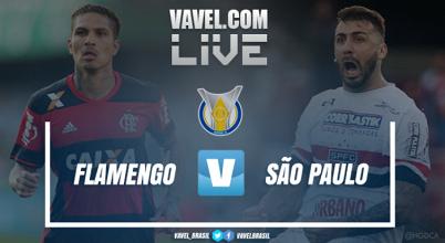 Resultado São Paulo x Flamengo pelo Campeonato Brasileiro 2017 (2-0)