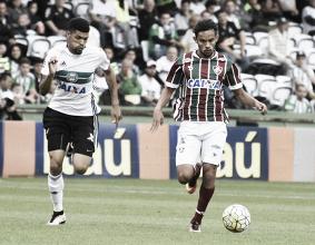 Próximos na tabela, Coritiba e Fluminense duelam por estabilidade no Brasileirão