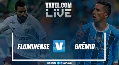 Resultado Fluminense x Grêmio no Brasileirão (0-2)