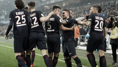 Cavani salvó el invicto del PSG en el último minuto