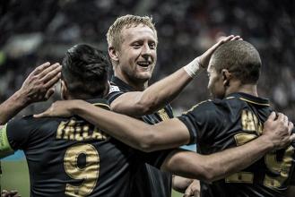 Mónaco y PSG dieron un paso importante en busca del título