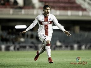 Cucho Hernández, el mejor atacante del Huesca