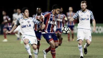 Resultado Avaí x Bahia no Campeonato Brasileiro 2017 (1-2)