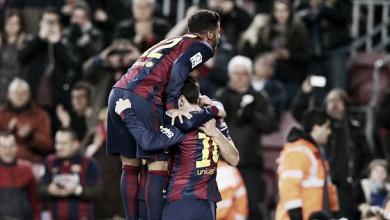 Les buts de Barcelone - Villareal