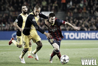 Les buts de Barcelone - Atletico Madrid