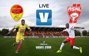 AS Nancy Lorraine - US Orléans en direct commenté : suivez le match en live