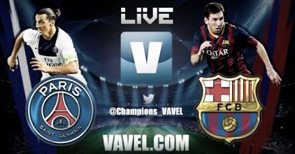 FC Barcelone-PSG en direct commenté: suivez Ligue des Champions en live