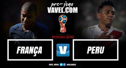 Com Guerrero? França e Peru se enfrentam pela segunda vez na história