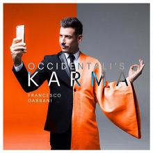La copertina di Occidentali's Karma (francescogabbani.com)