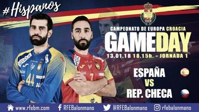 Resumen España 32-15 República Checa por la primera jornada de la EHF Euro 2018