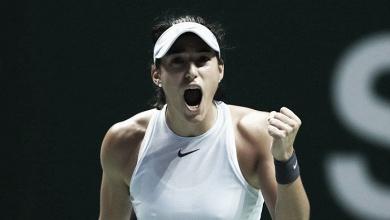 Garcia vira sobre Svitolina e ainda sonha com classificação no WTA Finals