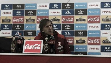 """Ricardo Gareca: """"No tendremos preocupación por las bajas ante Bolivia"""""""