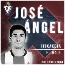 José Ángel, ilusionado por jugar en Ipurúa