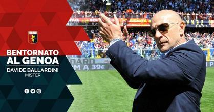 UFFICIALE, Ballardini è il nuovo allenatore del Genoa