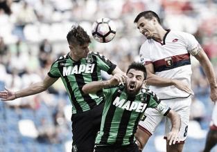 Serie A: Sassuolo e Genoa non vanno oltre lo 0-0
