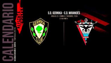 Previa: SD Gernika - CD Mirandés: partido trampa para el líder